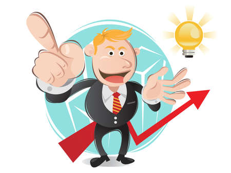 Glowing Ideas Light Bulb As Imagination And Creativity Concept from Prossional Worker during Presentation Stock Vector - 14536200