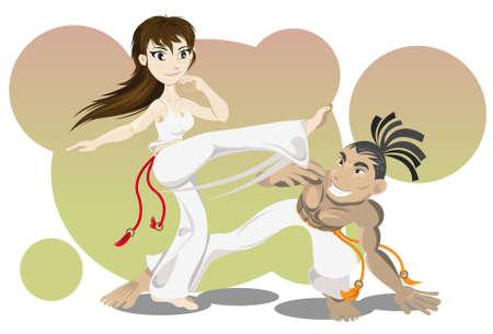 self defense: Marcial brasile�o Capoeira Arte