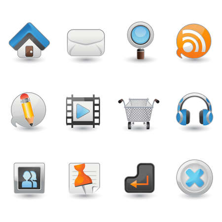 tweets: Website And Internet Icon Set