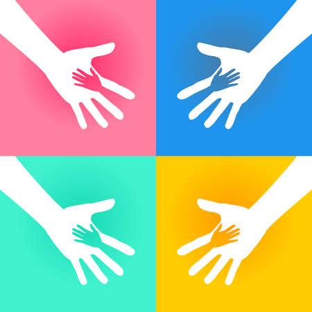 personas ayudando: Ayudar Caridad Manos