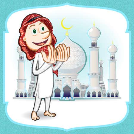 moslem: Eid Mubarak Greeting Card