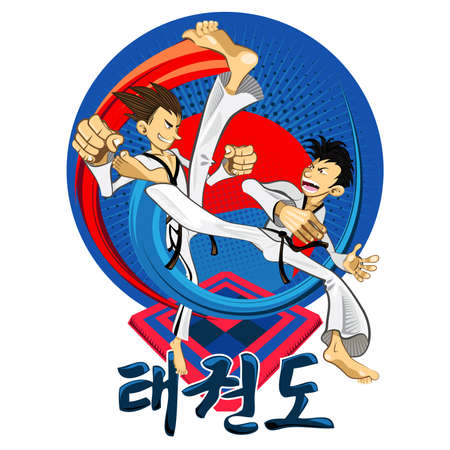 Taekwondo Tae Kwon Do Korean Martial Art 版權商用圖片 - 20832786