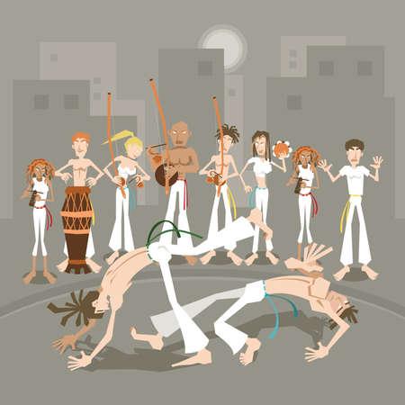self defense: Marcial brasile?o Capoeira Arte