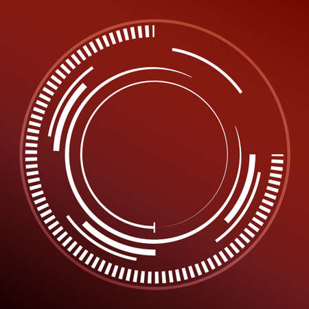 dark red: abstract dark red background with white circles. vector illustration Illustration