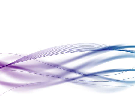 purple and blue waves swoosh background. vector illustration Vector