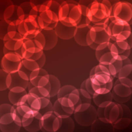 dark red: dark red purple background with soft bokeh circles. vector illustration