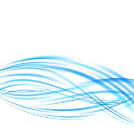 stream: bright blue turquoise swoosh wave stream motion. vector illustration