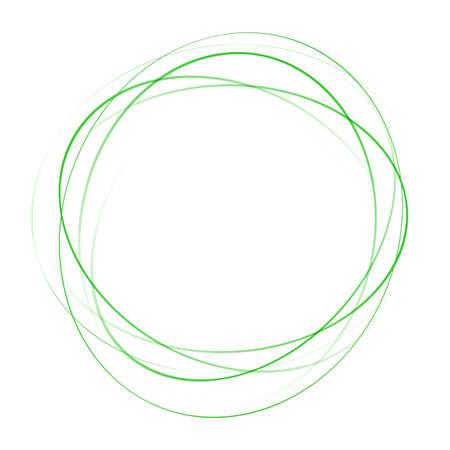 green swirl: light green elegant tornado abstract blank swirl. vector illustration