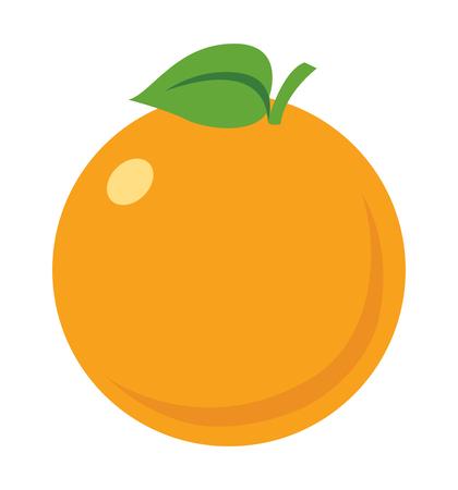 Orange icon vector illustration eps10 isolated on white background eps 10 向量圖像
