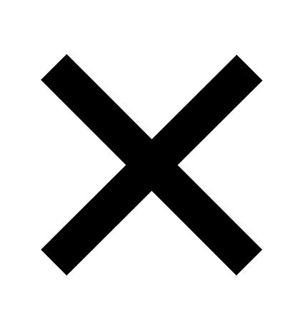 Cross icon black isolated on white background circle symbol vector illustration