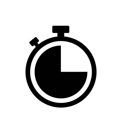 Stopwatch stop watch timer icon vector isolated