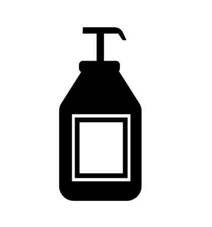 Antiseptic vector icon vector icon isolated on white background antiseptic