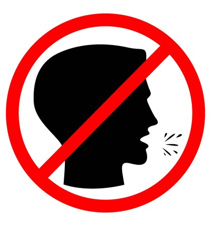 Two signs - do not cough, wear mask or respirator