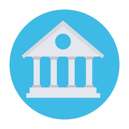 bank icon building vector illustration banking icon