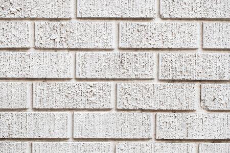 stonewall: White brick wall