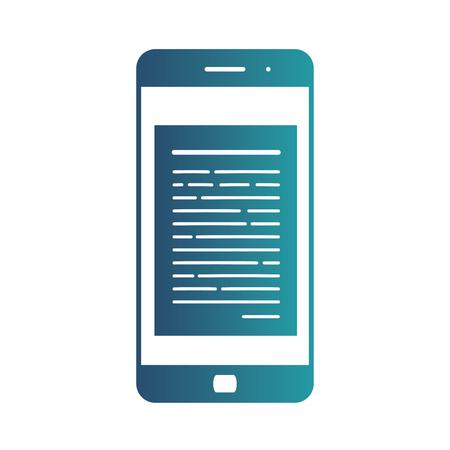 E-commerce flat design concept. Cart icon. Using mobile smart phone for online purchasing. Vector illustration.