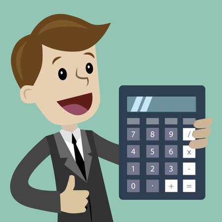 Negocios y Finanzas. Clipart de ilustración de vector de estilo plano. Ilustración de vector