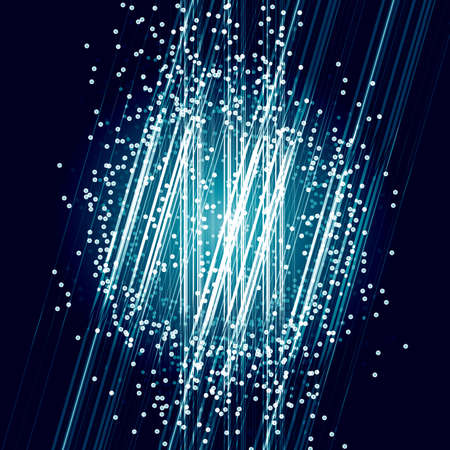 explosion: Energy power bright burst explosion layout abstract particle and light background. Vector illustration