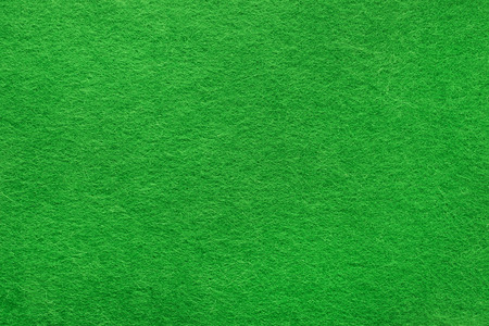 Green felt background based on natural texture