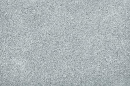 Weißer oder hellgrauer Filzhintergrund. Teppich, Tischoberfläche oder Stofftextur Standard-Bild
