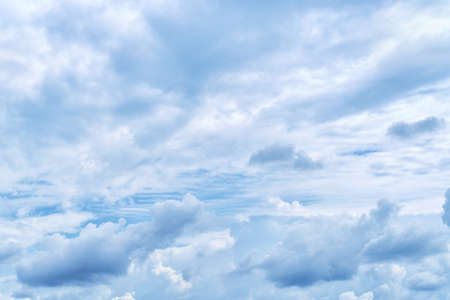 Dramatic overcast in the sky. Natural texture and background