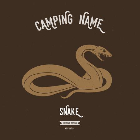 Snake vector illustration.