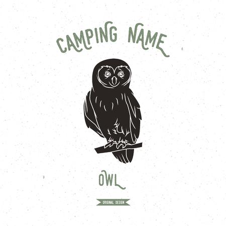 owl illustration: Owl vector illustration.