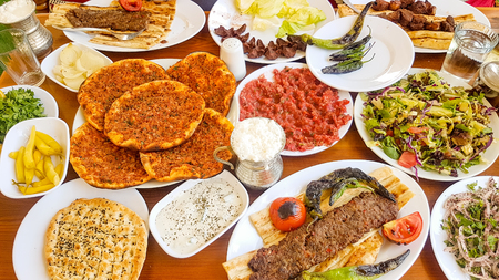 Turkish foods; Grilled meats, Adana kebab, food culture.