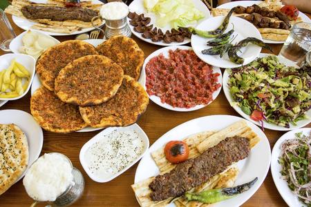 Turkish Kebab And lahmacun, Turkish Foods