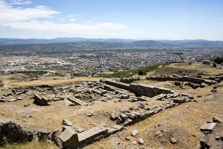 Turkey tourist travel The ancient city of Bergama