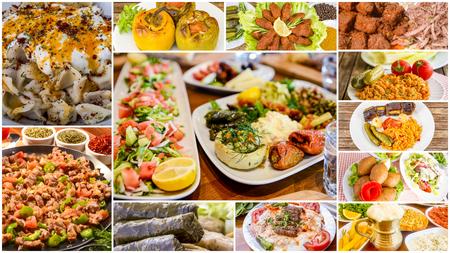 Turks eten collage