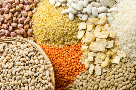 The Mixed Pulses Varieties; Dry Food Legumes