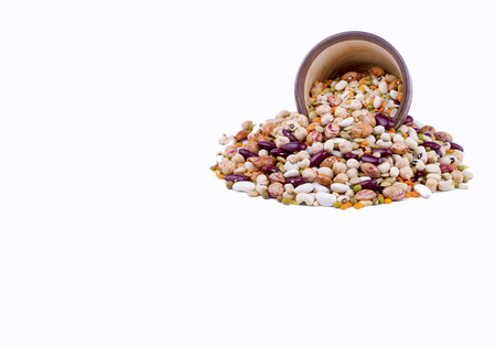 The Mixed pulses, Carbohydrate group Essential nutrients