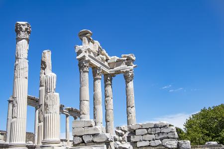 The Pergamon antique city historical building