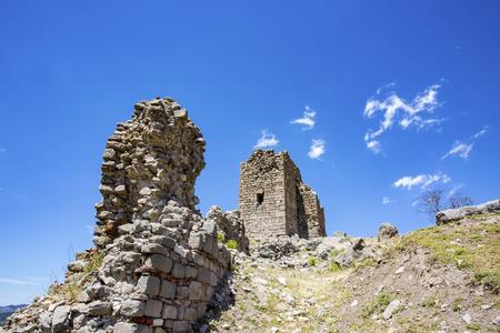 The Pergamon antique city Stock Photo