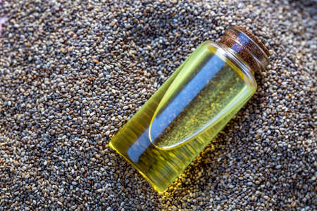 Chia seeds and chia oil
