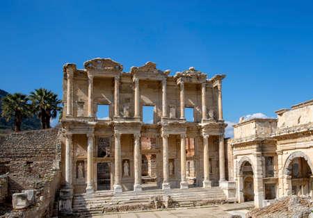 Ephesus historical ancient city. Selcuk / Izmir / Turkey Stock Photo