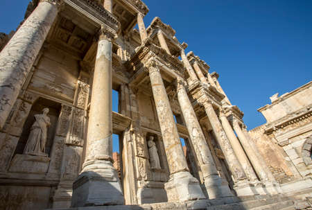 Turkey Izmir Ephesus Ancient City Historical City Stock Photo Picture And Royalty Free Image Image 152075866