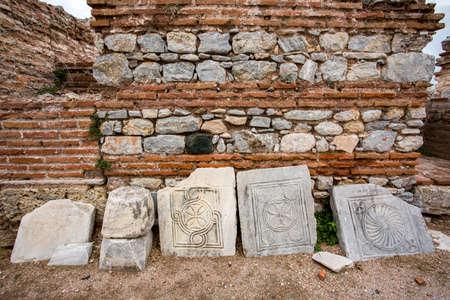Turkey Ephesus Senjan Saint Jean Church. Travel concept photo.