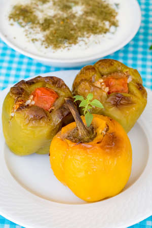 Dolma, a food flavor in Turkish cuisine. Turkish cuisine, is one of almost every dish in the region