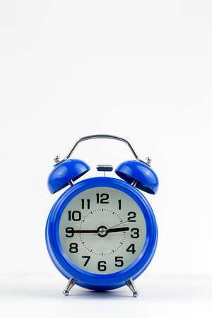 Alarm clocks isolated on the white background.