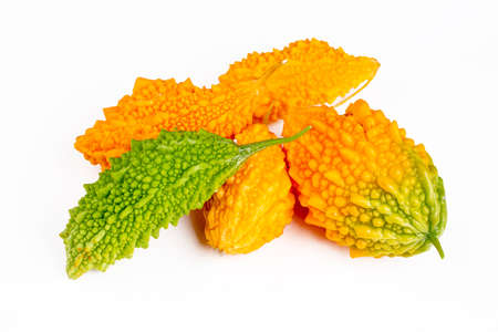 Momordica or karela (Momordica charantia) and marmalade or jam (Turkish name; mighty nari 免版税图像