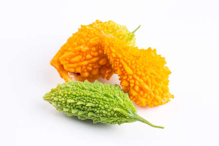 Momordica or karela (Momordica charantia) and marmalade or jam (Turkish name; might nari)
