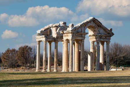 The Temple of Aphrodite in Aphrodisias Turkey (Aydin / Turkey)