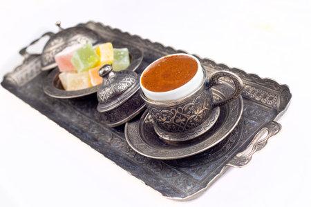 Turkish coffee and Turkish delight