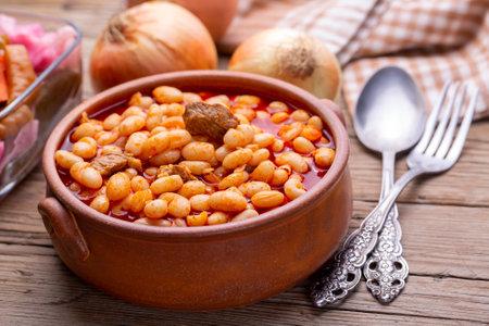 Turkish foods; dried bean