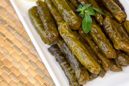 Turkish foods; stuffed leaves