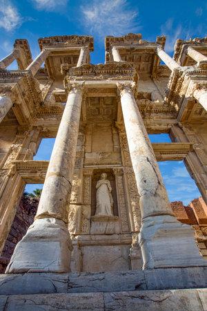Turkey Izmir Ephesus Ancient City, Historical city 免版税图像