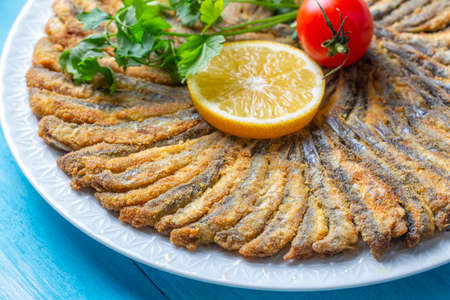 Fried Anchovies (Turkish Name: Hamsi Tava)