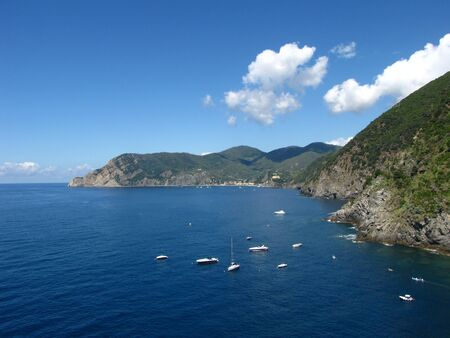 vernazza: View from Vernazza